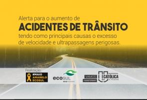 Ecosul e UCPel promovem debate sobre aumento dos acidentes de trânsito